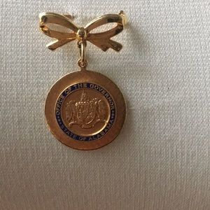 Alabama Office of the Governor Seal Pin Brooch